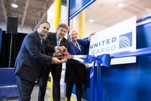 United Cargo Ribbon Cutting