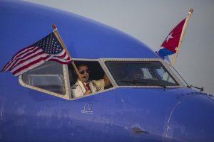 Southwest maiden flight arrives in Havana, Cuba